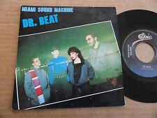"DISQUE 45T DE DR. BEAT  "" MIAMI SOUND MACHINE """