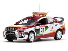 MITSUBISHI LANCER EVOLUTION X #00 RALLY JAPAN 2008 1/43 MODEL BY VITESSE 43442