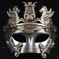 Perseus Warrior Roman Greek Style Party Costume Venetian Masquerade Men's Mask