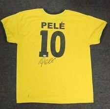 52601 Edson Pele Signed Brazil Jersey Autograph Sz XL PSA/DNA COA