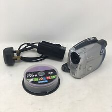 Canon DC201 Digital Camcorder - Silver Grey Mini DVD-R Handheld Video Camera
