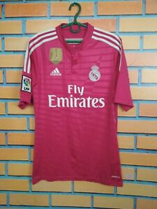 Real Madrid Jersey 2014 2015 Away SMALL Shirt Soccer Football Adidas M37315