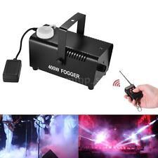 400Watt Fogger Fog Smoke Machine Remote Control for Stage Effect Party U4S7