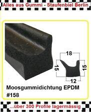 Vollgummi Rundschnur 15mm Ø EPDM10m schwarz Keder O Ring Dichtung Isolierung