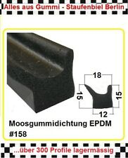 5m Moosgummi klebend € 4,55//m Gummidichtung Türdichtung  25x5mm 6824 aus BERLIN