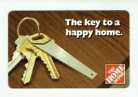 Home Depot Gift Card - Key To Happy Home - No Value - 2006 - I Combine Shipping