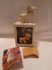 Precious Moments 150134 Merry Chrismoose Ornament 1995
