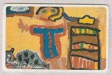 South Africa Telkom Phonecard, Child Art - Woman   t21