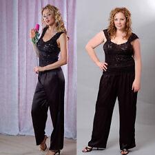 Plus Size Lingerie Sizes 1X 2X 3X  Black or Red Pajamas VX2071X