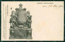 Militari Reggimentali IV Reggimento Genova Cavalleria ABRASA cartolina XF2052