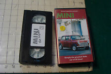 VHS--Kelnat prod. MINI the legend (car) 1993,  in plastic case