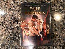 Water For Elephants Dvd! 2011 Drama! Larger Than Life Elephant Boy Kumki Dumbo