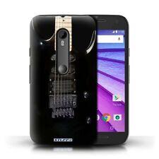 Étuis, housses et coques noirs brillants Pour Motorola Moto G pour téléphone mobile et assistant personnel (PDA)