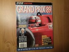 Bbc Sportsyear-Grand Prix '89-Nigel Mansell British Hero-Divers/Teams/Circuit s