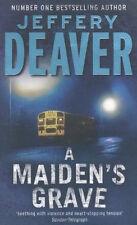 JEFFERY DEAVER ___ A MAIDEN'S GRAVE ____ BRAND NEW ____ FREEPOST UK