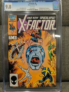 X-Factor #6 CGC 9.8 - super clean! Shipping to USA only