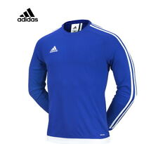Adidas Estro Black Football Jersey Aa3729 Blue color Size 110 Xx Large