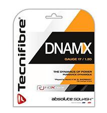 Tecnifibre Dnamx 17 (1.2mm) Squash String - Black - Auth Dealer - Reg $20