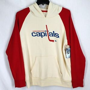 Washington Capitals Hooded Sweatshirt Sz L NHL Hockey Hoodie Fanatics NEW