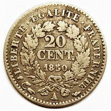 20 cent Cérès 1850 A