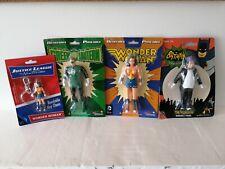 "New listing 5.5"" Bendable Action Figures Wonder Woman The Penguin & Green Lantern + free key"