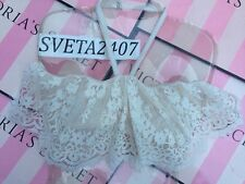 NWT Victoria's Secret~Dream Angels Strapless~Flounce Bra~Coconut White~36D