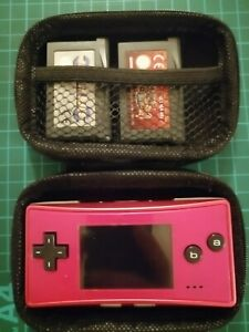 Nintendo Gameboy Micro Fitted Carry Case Bag Pouch Brand new Protective case