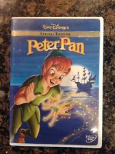 Peter Pan (DVD, 2002, Special Edition)Authentic Disney Release