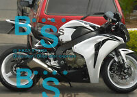 White Glossy INJECTION Fairing Fit HONDA CBR1000RR 2009 2010 2008-2011 31 A7