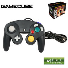 1wired Shock Video Game Controller Pad for Nintendo GameCube GC & Wii Black Gift