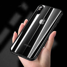 Clear TPU Case Silicone Crystal Clear Bumper Gel iPhone X 5 6S XS 7 8 Soft Cover