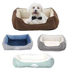 Pet Bed Reversible Rectangle Dog Cat Puppy Bed Sleeping Warm Kennel Nest,Medium