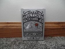 FULTON'S October Playing Cards V1 Rare From Dan & Dave
