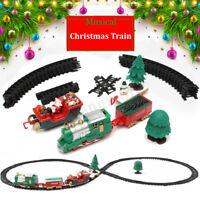 22x Christmas Musical Light Train Trees Box Set Xmas Ornament Decor Kid Gift Toy