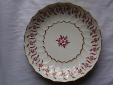 "ANTIQUE NEWHALL PORCELAIN 1800-1825 HAND PAINTED LARGE 7 1/2"" SAUCER (A)"