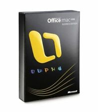 Microsoft Office for Mac 2008 Business Edition FULL RETAIL Version * GENUINE *