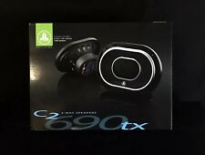 "*NEW* JL AUDIO C2-690tx 6""x9"" Car Stereo Speakers 225W 3-Way Coaxial C2690tx C2"