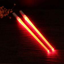 Chopsticks Funny LED Light Saber Luminous Kitchen Chop Sticks Light Saber