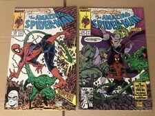 Marvel Comics Amazing Spiderman #318 #319