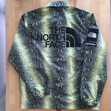 Supreme The North Face Snake Skin Coaches Jacket. Medium.