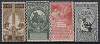 ITALY Regno - Sassone n. 92-95 cv 800$  MNH** (92+93 super centered)