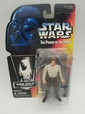 Kenner Star Wars Power Of The Force Card Han Solo In Carbonite Block