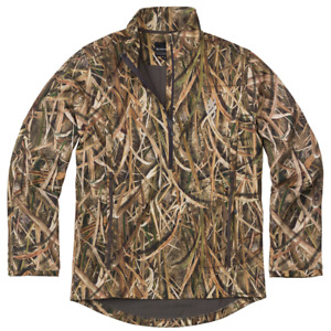 Browning Wicked Wing - Size M-3XL Smoothbore 1/4 Zip Pullover Jacket MOSGB Camo
