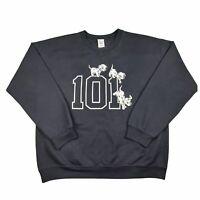 *DISNEY OFFICIAL* Vintage - 101 Dalmations Sweatshirt - 90s - Y2K - Graphic - L