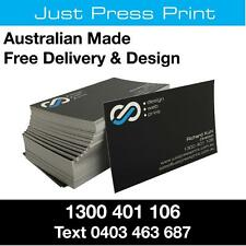1000 Business Cards FREE DESIGN FREE THICK 365gsm Full Colour 2 Sides  Aust Made