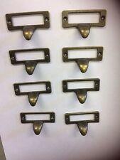 8 Vintage Cup Handle Metal Drawer Knob,door,Haberdashery Draw Pull Cabinet Chest