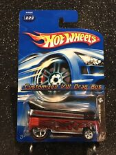 Hot Wheels~2006~Mystery Car~Volkswagen Drag Bus~W/Protecto~RealRiders~Limited