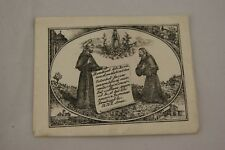 † 1900's ST FRANCIS OF ASSISI RELIQUARY SOIL from TOMB AUTHENTIC SERAPHIC RELIC†
