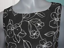 Womens Josephine Chaus Silk With Bling Embellishment Lined Tank Top Blouse 10