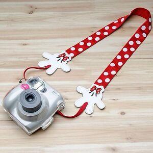 "Disney ""Minnie-Mouse"" Pink Camera Neck Strap - BRAND NEW"